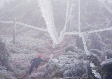 郴州电力公司冰灾案报损5亿元,定损2.2亿元